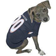 Denver Broncos Navy Blue Dog Jersey - Thor needs this! :)