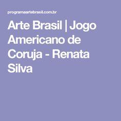 Arte Brasil | Jogo Americano de Coruja - Renata Silva
