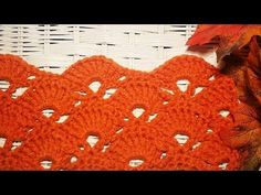 "Beautiful ""Fan"" Afghan/Lapghan/Shawl - YouTube"