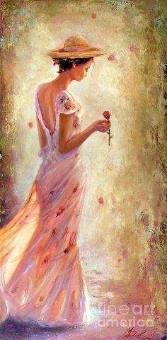Toujours De Fleurs Painting - Toujours De Fleurs by Michael Rock