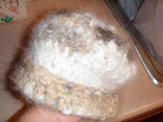 Chiengora (Dog fur) hat