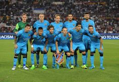 Picture: Starting line-up Barcelona against Roma #fcblive [via @noticiasfcb1899]