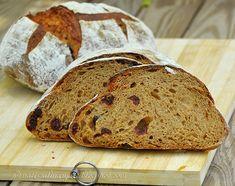 לחם שאור עם קמח שיפון, חמוציות ומולאסה   - Sourdough bread with rye flour, cranberries and molasses Culinary Arts, Bread, Blog, Brot, Blogging, Baking, Breads, Buns
