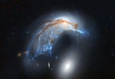 """tinymuddypaws: """" Porpoise Galaxy from Hubble """""""