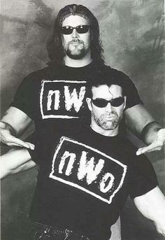 """""""The premise in my mind was that these were two guys that had been in WCW, treated like shit, didn't make any money, were disrespected, went to the WWF, became big stars and now they were coming back to get revenge."""" –Eric Bischoff, on the nWo concept; Talk is Jericho #137 (4/24/15)"""