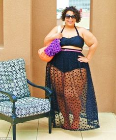 An article on fatkini's: women proud to wear a two piece swimsuit!! Did I mention the use my picture in their slideshow?! SWEET!
