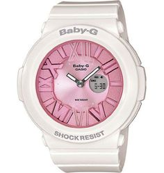 Women's Wrist Watches - Casio Womens BGA1617B2 Baby G White and Pink Watch * Click on the image for additional details.