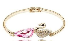 'Choose Magnificent Swarovski Crystal Bracelets' is going up for auction at  5pm Fri, Apr 26 with a starting bid of $1.