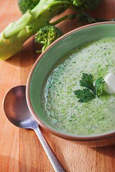Krémová brokolicová polievka Palak Paneer, Cantaloupe, Broccoli, Fruit, Ethnic Recipes, Food, Essen, Meals, Yemek