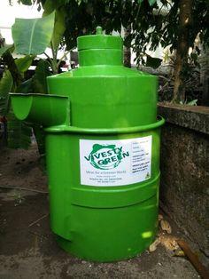Biogas plants for solid waste management