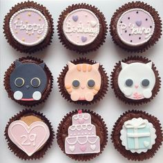 Cupcakes | cats, cakes, presents