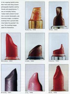 Lipstick Series by Stacy Greene. Alternative Kunst, Piskel Art, The Wicked The Divine, Belle Photo, Oeuvre D'art, Artsy Fartsy, Art Direction, Art Inspo, Art Photography