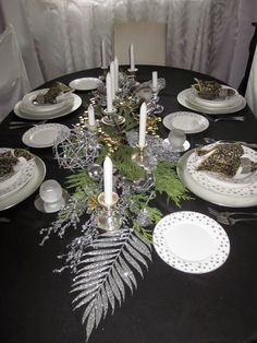 Christmas Decorations, Table Decorations, Table Settings, Holiday, Furniture, Design, Home Decor, Homemade Home Decor, Vacations