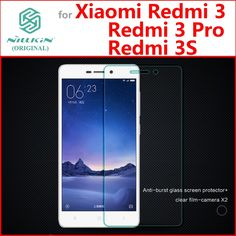 Xiaomi redmi 3 S en verre trempé film écran redmi 3 pro 3 S protecteur Nillkin verre film pour xiaomi redmi 3 S Prime 3 Pro 3 S