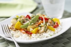 Hain Celestial | Thai Stir-Fried Chicken with Vegetables and Mango