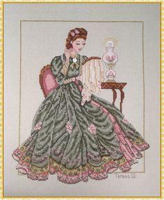 Victorian Cross Stitch, Celtic Cross Stitch, Cross Stitch Fairy, Cross Stitch Angels, Cross Stitch Kits, Cross Stitch Designs, Cross Stitch Patterns, Needlepoint Patterns, Embroidery Patterns