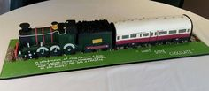 An all edible replica of the Cornish Riviera Express steam train for a funeral. The request was because the gentleman that had passed used to work in the buffet carriage. Gravity Defying Cake, Boy Birthday, Birthday Ideas, Love Cake, Savoury Cake, Cake Creations, Mini Cakes, Clean Eating Snacks, Amazing Cakes