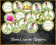 Tiana Cupcake Toppers