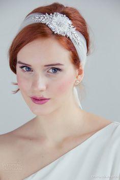 Olivia Headpieces 2014 Bridal Accessories | Wedding Inspirasi