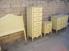 vintage bedroom sets. Rhan Vintage  Mid Century Modern Blog My 1970 s French Provencial Bedroom Set is lingerie chests need to find one of these complete the girls