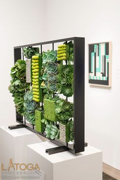 Florabella installation from 2015 Bouquets to Art at the de Young Museum, San Francisco.