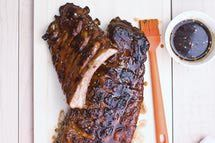 Jack Daniels Glaze BBQ Sauce http://bbq.about.com/od/barbecuesaucerecipes/r/ble30921j.htm