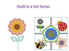Flowerfest Machine Embroidery Designs  http://www.designsbysick.com/details/flowerfest