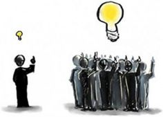 "The basic idea is to leverage the collective intelligence and creativity of the ""crowd"""