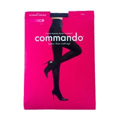 cute packaging, no-dig waist band, comfortable, snag resistant, AND made in the USA...Yes Please!!!...Ultimate Opaque Matte Tights
