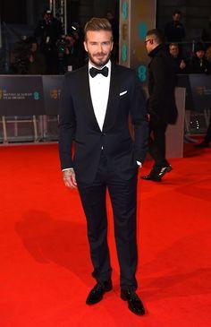 David Beckam...Stars attend the 2015 BAFTA Awards