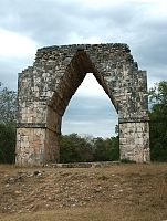 Kabah, Yucatan, Mexico Views of the arch  For comparison, also see the arch at the Puuc ruins of Labná.
