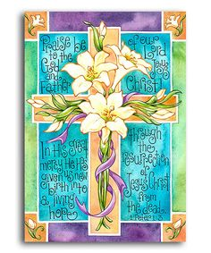 Loving this Easter Cross Flag on #zulily! #zulilyfinds