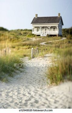 Stock Photography of Cottage on Beach u12948020 - Search Stock Photos, Pictures, Wall Murals, Images, and Photo Clipart - u12948020.jpg