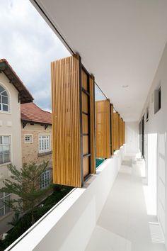 Fuschia Villa designed by MimANYstudio + REALarchitecture, Thảo Điền Clinic, Thảo Điền, Ho Chi Minh City, Vietnam - 2013.