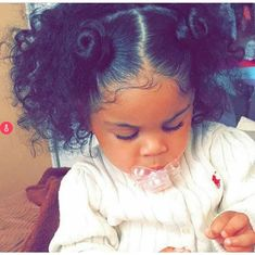 Shared by Eli Baez ツ. Find images and videos about curly hair, baby girl and mixed on We Heart It - the app to get lost in what you love.