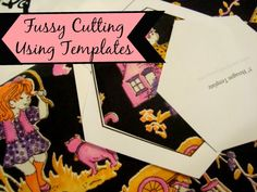 Learn how to fussy cut fabric using printable quilt templates. Show off those super cute fabric prints with a little bit of fussy cut action. Easy to do.