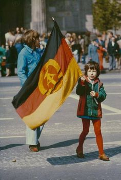 May Day, East Berlin. East Germany, Berlin Germany, Berlin Berlin, New Zealand Flag, Socialist State, Warsaw Pact, Research Images, Central And Eastern Europe, The Lost World