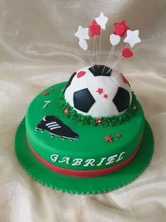 Taart 'I love voetbal'