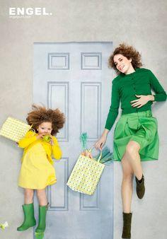Shopper Yellow Apple - ENGEL-punt - Madame La Poule