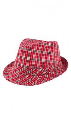 Sawyer Plaid Fedora