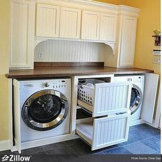 Laundry room organized