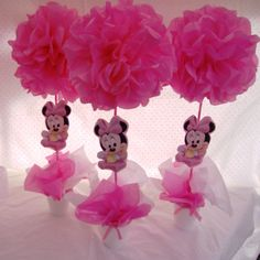Pin by Paty Lucero on Paty | Pinterest | Ratones, Minnie mouse y Mesas