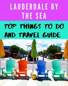 Top things to do in Lauderdale by the Sea and Travel Guide. Also get a list of the best places to eat in Lauderdale by the Sea including great seafood, French cuisine and more. Mountain Vacations, Dream Vacations, Fort Lauderdale By The Sea, Florida Vacation Spots, Seaside Holidays, Eat Your Heart Out, Seaside Towns, Beach Town, Staycation