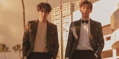 Nam Joo Hyuk and Ji Soo showed off their tight bond on 'Leon.'The two stars, who are known to be close friends, flew over to Hawaii togeth… Ji Soo Nam Joo Hyuk, Celeb Bros, Drama Korea, Best Memories, Hawaii, Two By Two, Interview, Celebs, Relationship