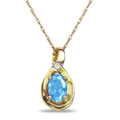 Jet NissoniJewelry presents - Diamond Accent Blue Topaz Pendant in 10k Yellow Gold    Model Number:P7375A-Y077BT    https://jet.com/product/Diamond-Accent-Blue-Topaz-Pendant-in-10k-Yellow-Gold/647cc4b59aaf44d59ee937f4306c92d9
