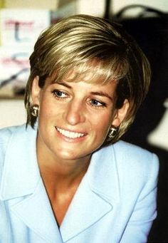 April 15, 1997: Diana, Princess Of Wales visiting Royal Brompton Hospital, West London.