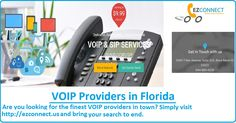 Are you looking for the finest VOIP providers in town? Simply visit http://ezconnect.us/ and bring your search to end.