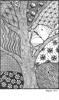 I love the tree bark!
