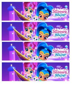 Daisy Celebrates!: Shimmer and Shine Birthday Party Printable Files