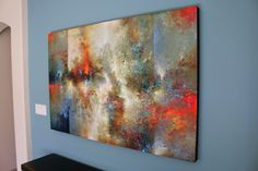 """I create a diverse range of acrylic works on 2"""" deep, all-wood panels (black painted edges). My main goal when painting is to create unforgettable, dynamic work. I focus on combining natural elements..."""